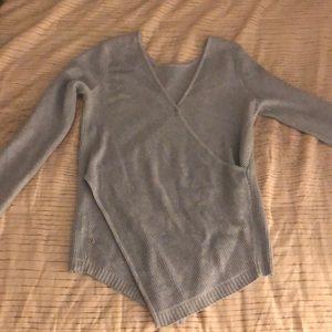 Hardly worn lululemon v neck sweater!
